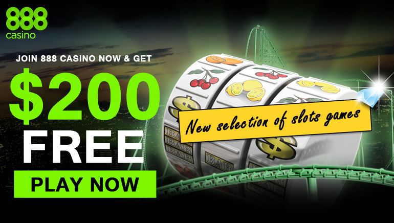 888 Casino - Join 888 Casino Now & Get $200 Free Bonus
