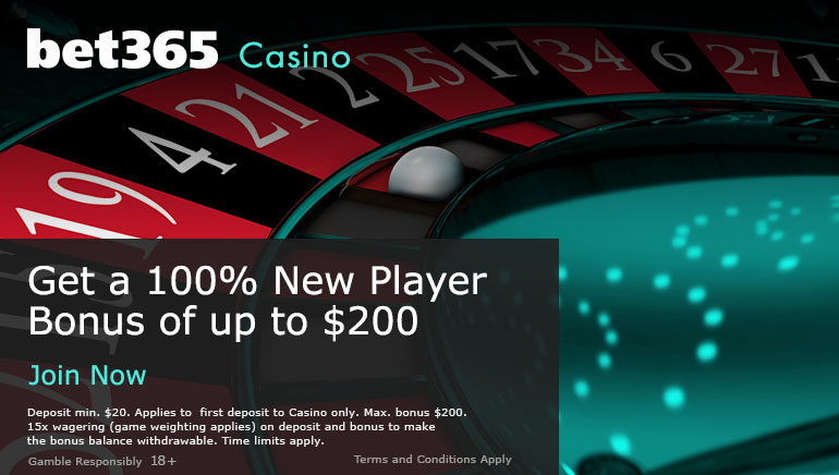 Get a 100% New Player Bonus of up to $200